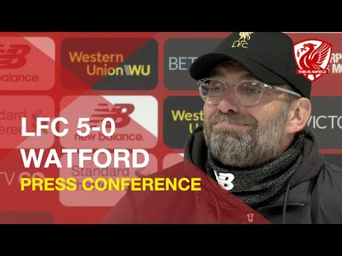 Liverpool 5-0 Watford | Jurgen Klopp Press Conference