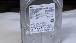 Обзор жёсткого диска для NAS хранилища от HGST Hitachi