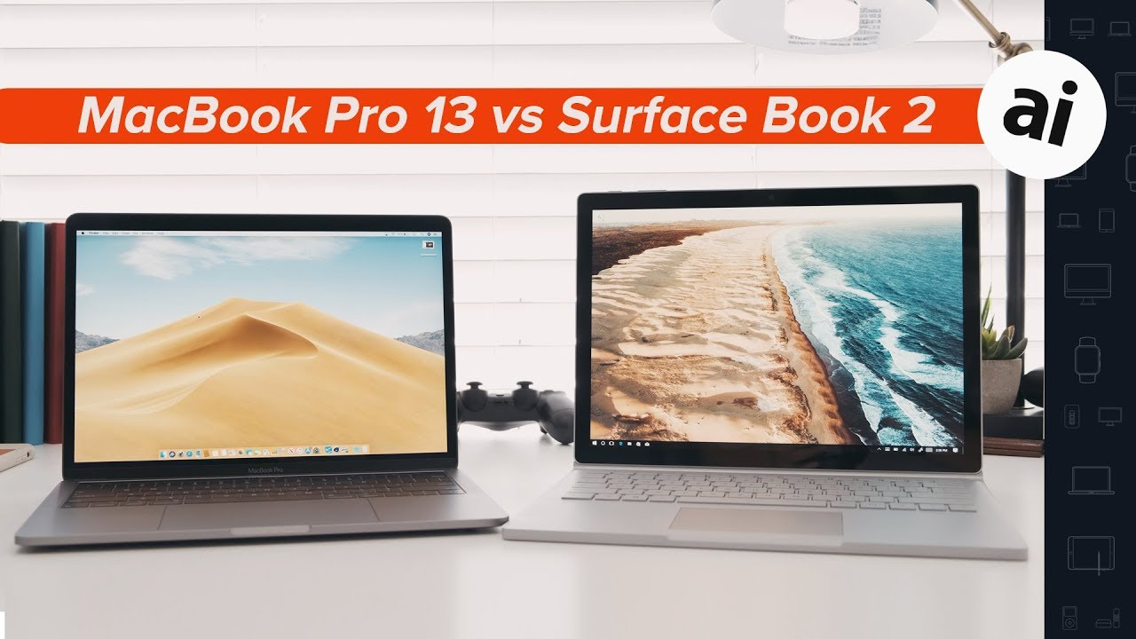2019 Macbook Pro Vs Surface Book 2 Which One Should You Pick Up Youtube