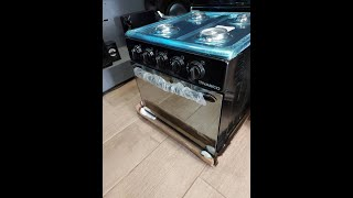 How to operate a new Gas oven …