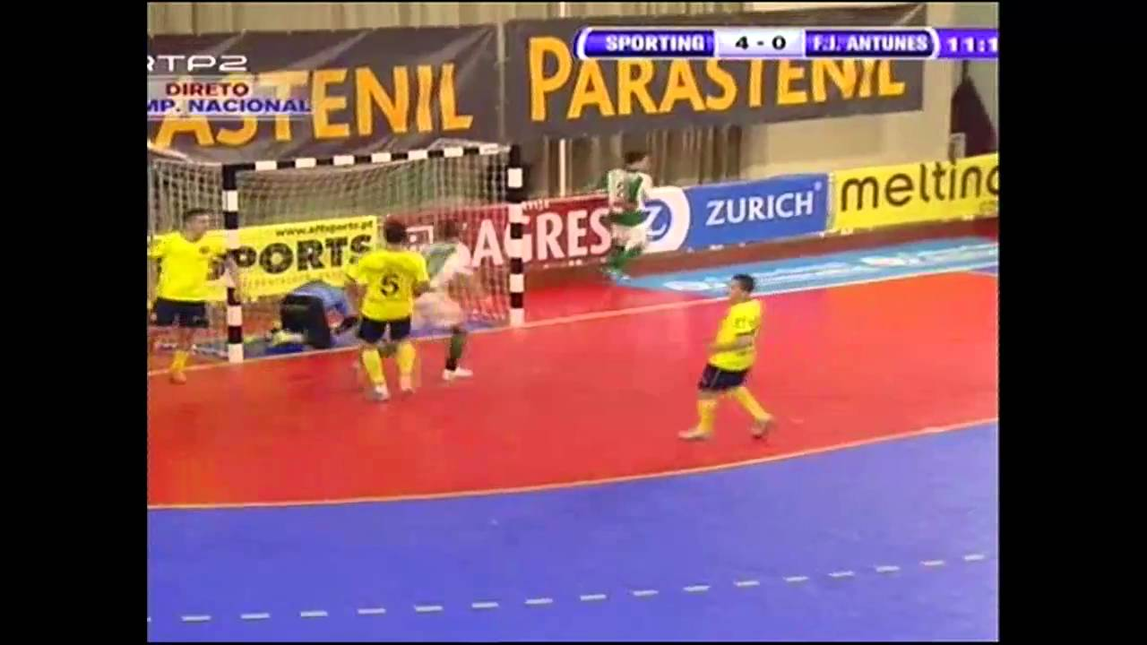 Futsal :: 21J :: Sporting - 8 x FJ Antunes - 0 de 2010/2011
