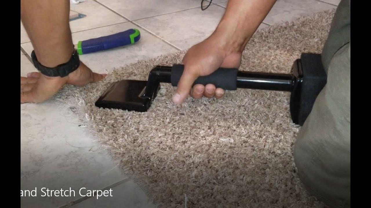 How To Repair And Stretch Carpet Diy