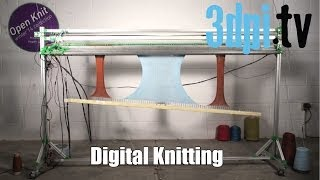 Is Digital Knitting a form of 3D Printing?