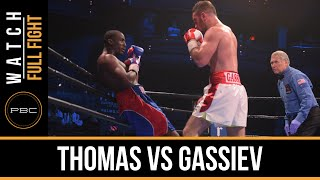 Thomas vs Gassiev FULL FIGHT: Dec. 18, 2015 - PBC on Spike