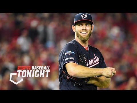 Stephen Strasburg Signs 7-year, $245M Deal: Day 1 At The MLB Winter Meetings | Baseball Tonight