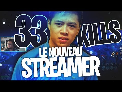 +33 KILLS TOP 1 AVEC LE NOUVEAU STREAMER SOLARY ! 🥇(Kinstaar Fortnite Gameplay)