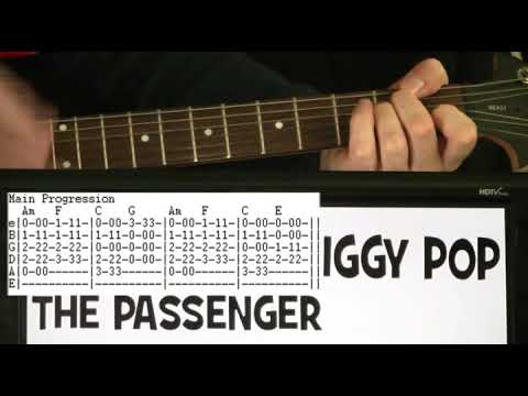 Iggy Pop The Passenger Guitar Chords Lesson With Tab