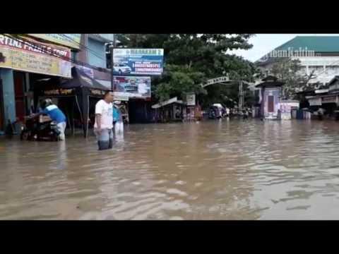 VIDEO   Hujan Tak Sampai 1 jam Warga Kota Ini Bingung Dikepung Banjir