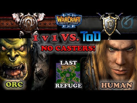 Grubby | Warcraft 3 The Frozen Throne | Orc vs. HU - vs. ToD - No Casters - Last Refuge