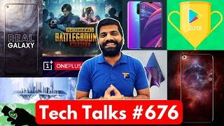 Tech Talks #676 - T-Series Vs PewDiePie, Galaxy A8s, Vivo Nex 2, PUBG Resident Evil, Sony Phone