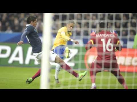 Les Bleus tombent face au Brésil