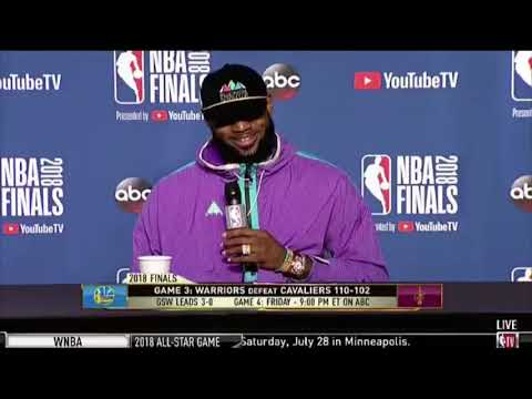 LeBron James has had enough of ESPN's Mark Schwarz