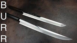 Traditional Japanese  Kitchen Knives or Samurai Katana Swords ?