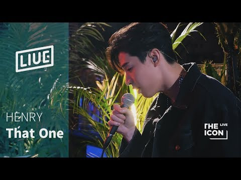 Download lagu gratis [The ICON LIVE] HENRY 헨리_That One(piano Ver.) Mp3 terbaru