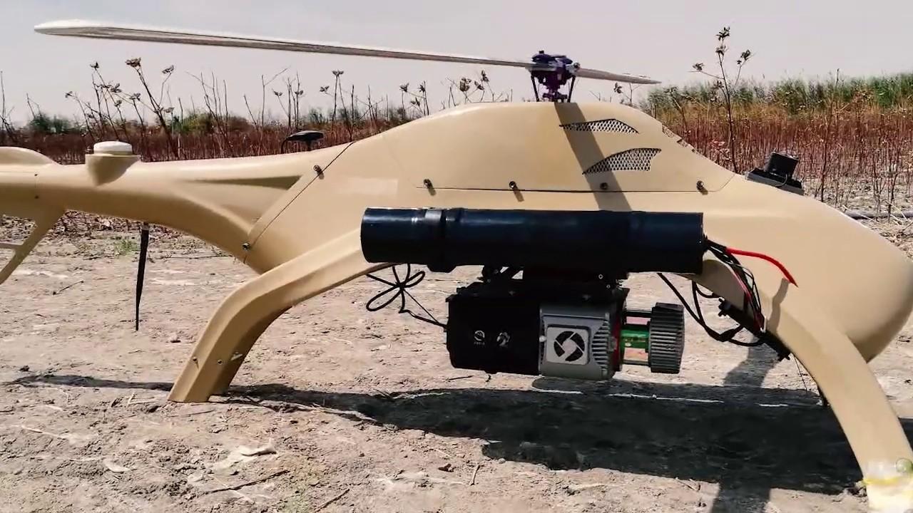 紫燕 ZIYAN UAV Universal Unmanned Helicopter - BLOWFISH 河豚 A2 - YouTube