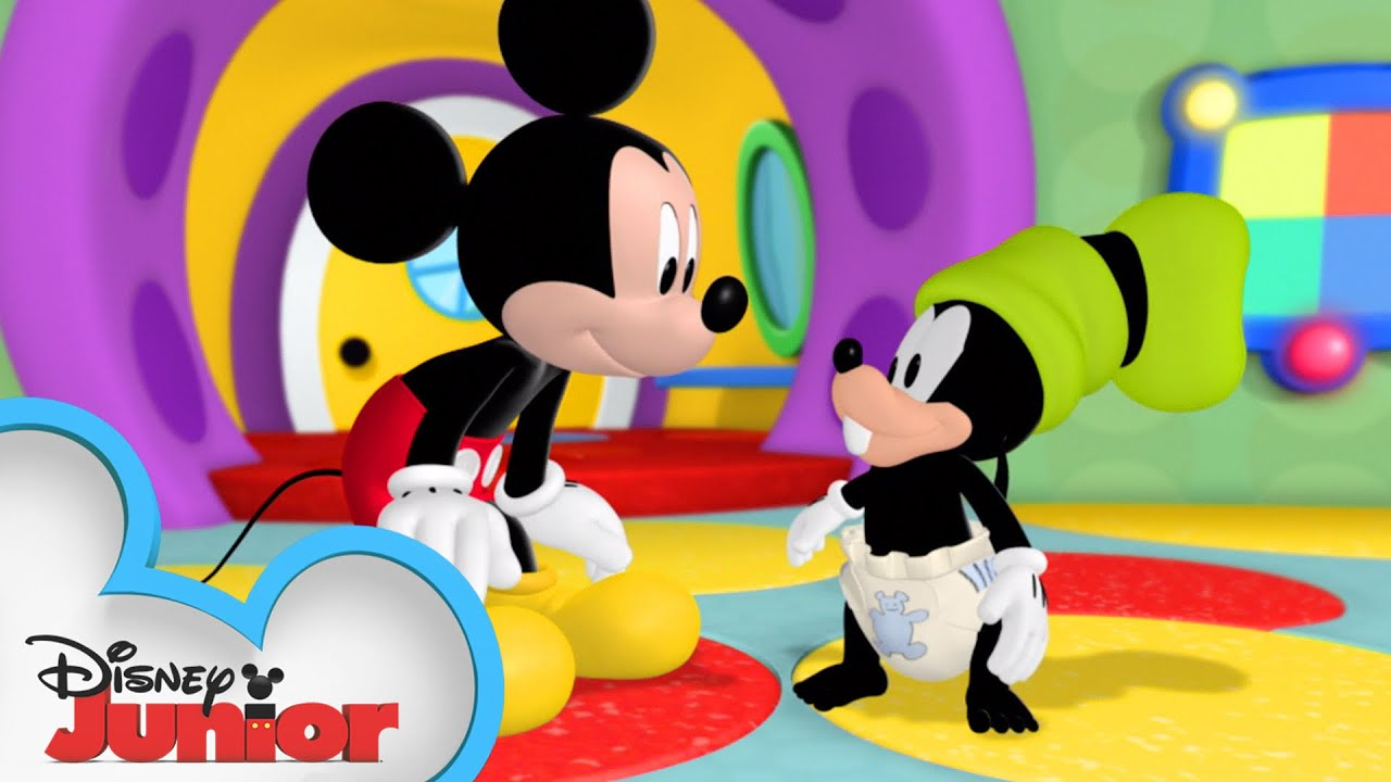 Download Goofy Turns into a Baby 👶🏼| Mickey Mornings | Mickey Mouse Clubhouse | Disney Junior