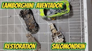 HOT WHEELS lamborghini SALOMONDRIN restoration | Custom Mexico