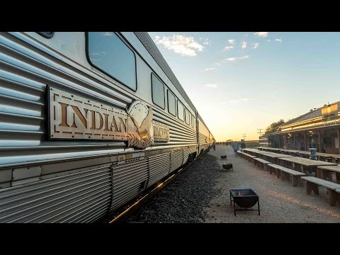 AUSTRALIA'S MOST LUXURIOUS TRAIN: THE INDIAN PACIFIC