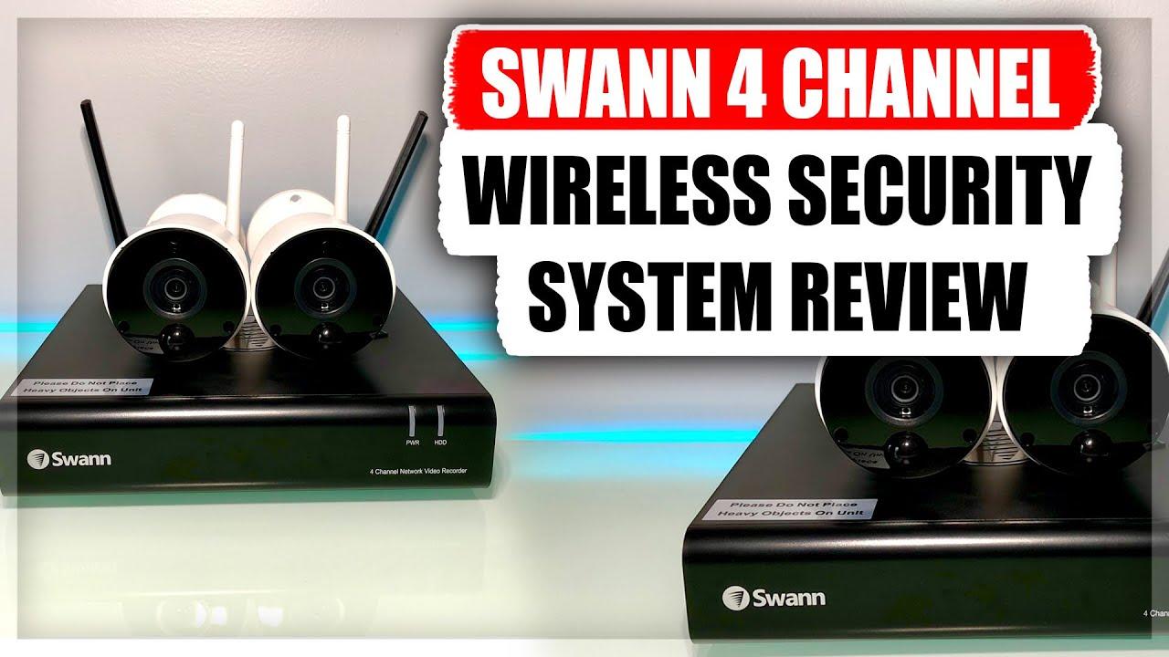 Swann INTCAM Smart Wireless CCTV Camera 1080p HD Audio PIR Heat Motion Sensor x2