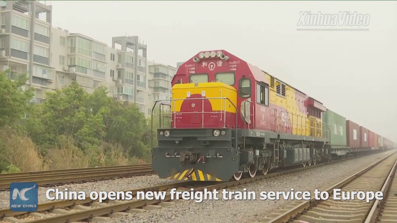 Download China opens new freight train service to Budapest