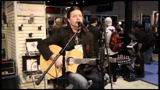 John Payne acoustic performance at NAMM 2012