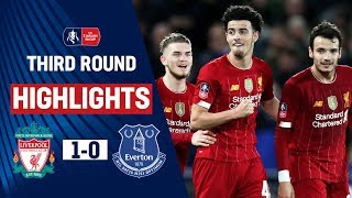Jones Knocks Toffees Out in Style as Minamino Debuts | Liverpool 1-0 Everton | Emirates FA Cup 19/20