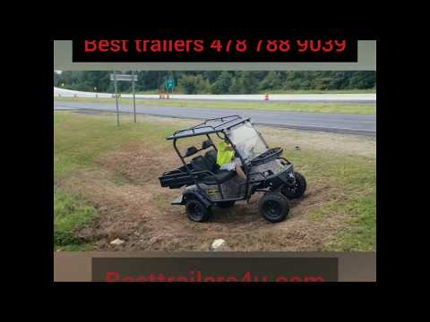 Beast Hunting Golf Cart Overveiw And Demo Electric 48v Bad Boy