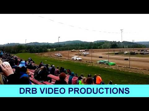 Marion Center Speedway 5/20/17 Pure Stock Heat 1 Of 2 (NO AUDIO)