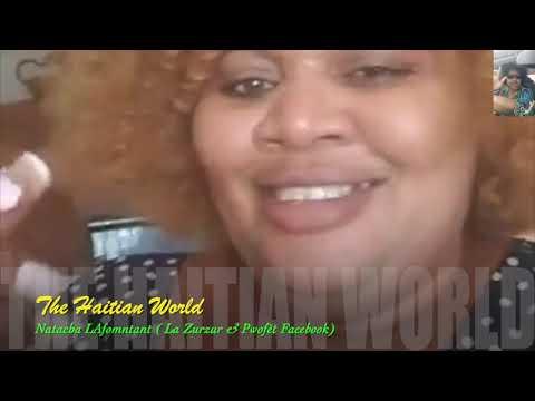 """The Haitian World"" Natacha Lafontant (Pwofet) ta pale ak Rachelle.Part#3"