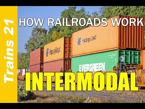 HOW RAILROADS WORK Ep. 5: Intermodal