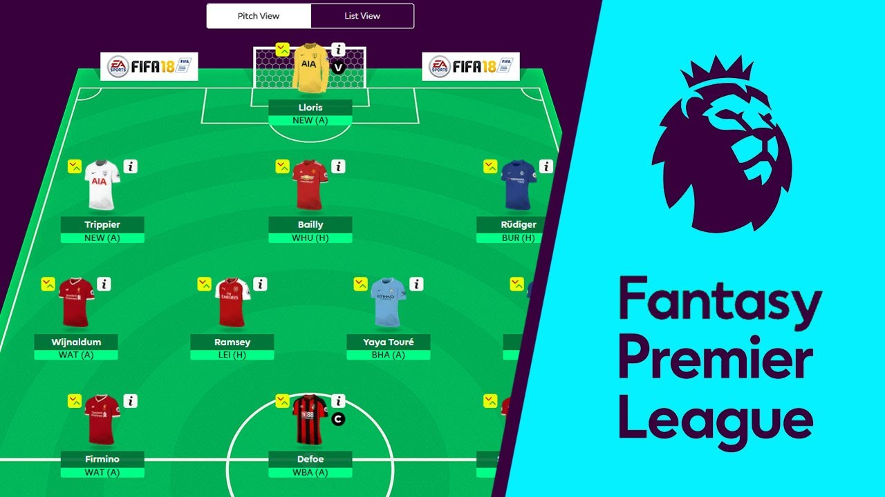 FANTASY PREMIER LEAGUE - CODE 3728-3539 - FANTASY FOOTBALL ...