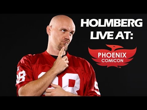 Holmberg Live At Phoenix Comicon 2015