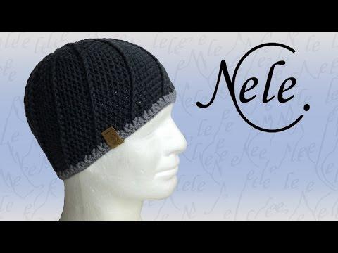 Mütze häkeln, Häkelmütze mit Reliefmuster, DIY Anleitung by NeleC.