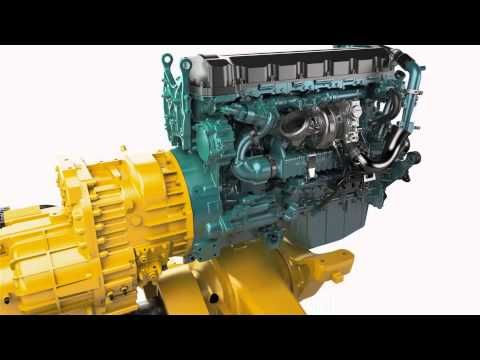 Volvo Construction Equipment Wheel Loaders L180H HL Optimized Powertrain - YouTube