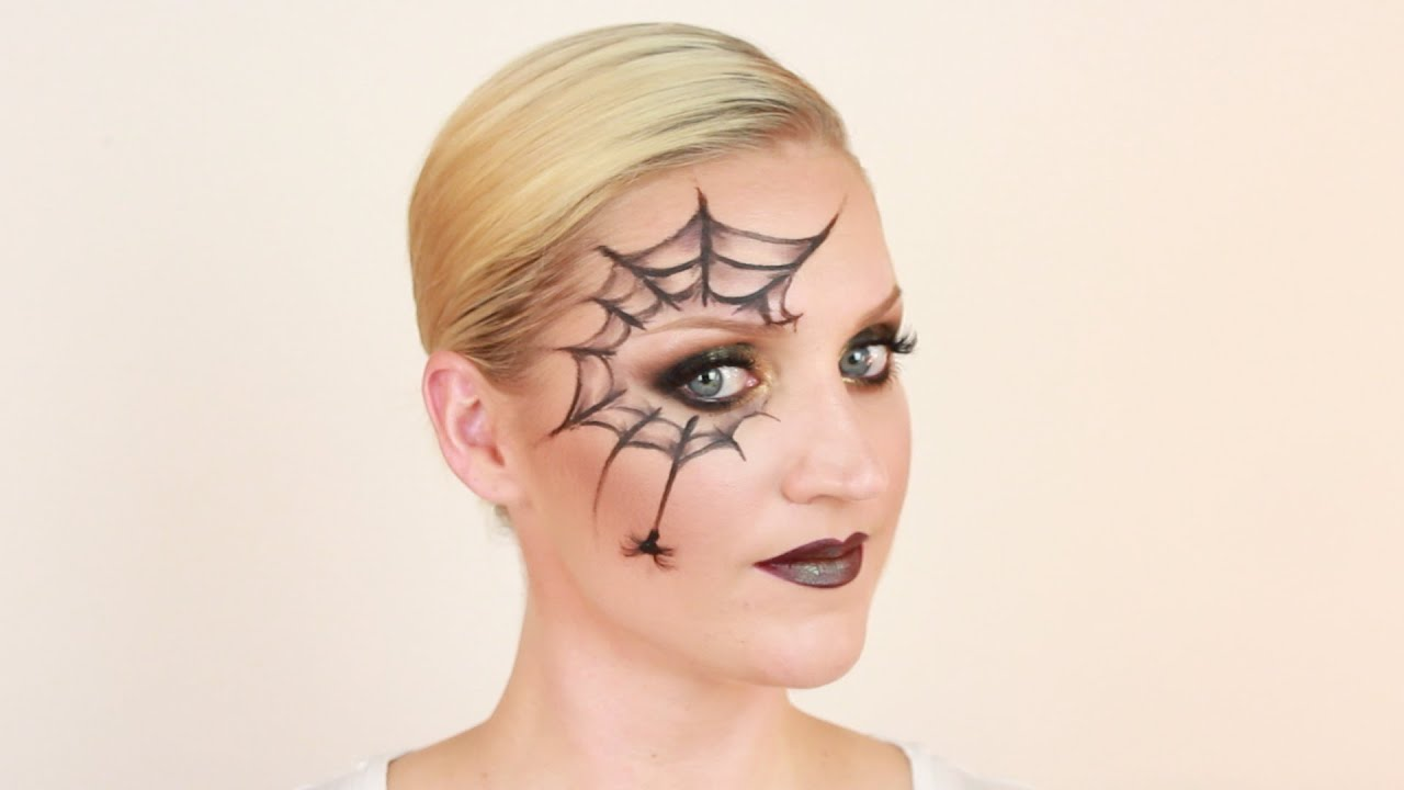 Halloween Makeup: Spider SFX - YouTube