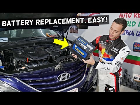 HOW TO REPLACE CAR BATTERY ON HYUNDAI