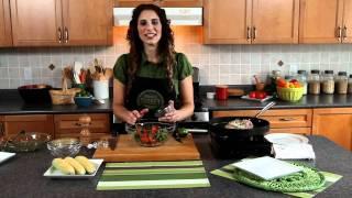 turkey green bean corn and tomato salad