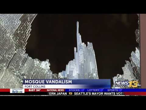 Video: CAIR Calls for Hate Crime Probe of Vandalism Targeting Colorado Mosque
