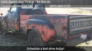 1956 Studebaker Pickup  for sale in Nationwide, NC 27603 at #VNclassics