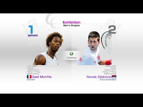 virtua-tennis-4-sega-gael-monfils-vs-novak-djokovic-rafael-nadal-roger-federer-andy-murray
