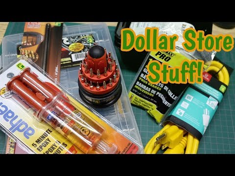 Dollar Store Things For The Workbench