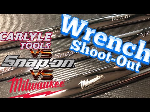 Wrench Shoot-Out SnapOn VS Carlyle VS Milwaukee