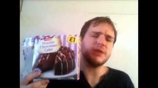 Charlie Tries An Iceland Double Chocolate Cake