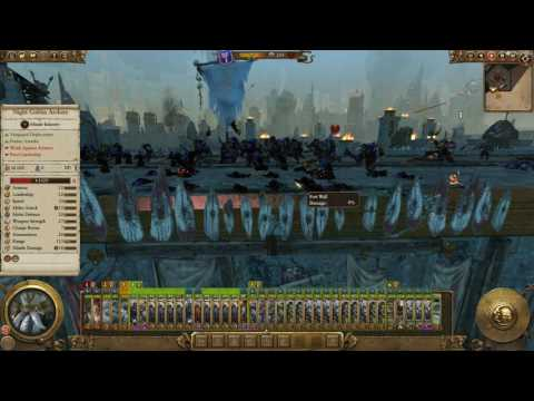 Total War  WARHAMMER The Taking of Karak Eight Peaks |