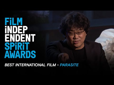 PARASITE (South Korea) wins Best International Film at the 35th Film Independent Spirit Awards