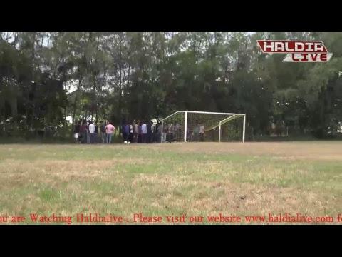 Haldialive : Live Football Match of HIT Inter Department Football Tournament - ICE vs IT