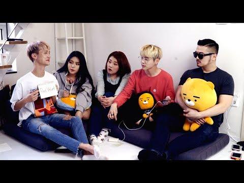 Testing My Korean Friends' English Pronunciation lolol - Edward Avila