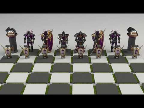 Warcraft Chess Set