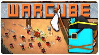 Conquering Our First Cube Castle! - Warcube Gameplay | Let