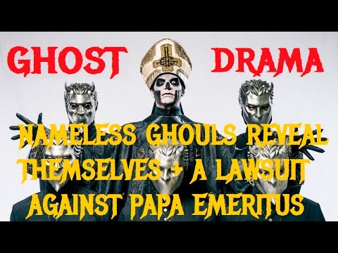 Former GHOST Nameless Ghouls Reveal Law Suit Against PAPA EMERITUS Mp3